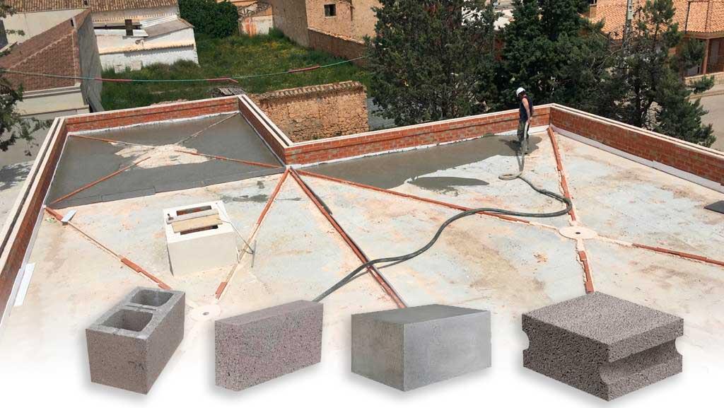 Aplicaciones y tipos de bloques hormigón cellar